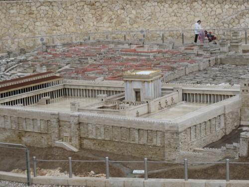 Terre Sainte (172)-maquette de Jérusalem au temps de Jésus.JPG