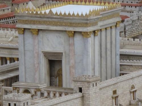 Terre Sainte (174)-maquette de Jérusalem au temps de Jésus.JPG